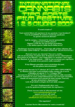 Film Festival @ Cannabis Tipo Forte 2007 - 1-2-3 Giugno 2007 Bologna