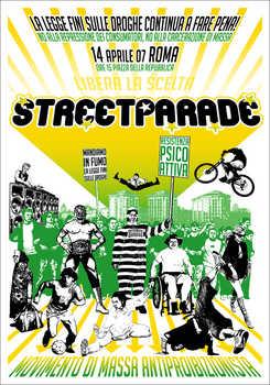 Manifesto della street antipro 14 aprile 2007 a Roma.  Clicca qui per la versione adatta alla stampa!