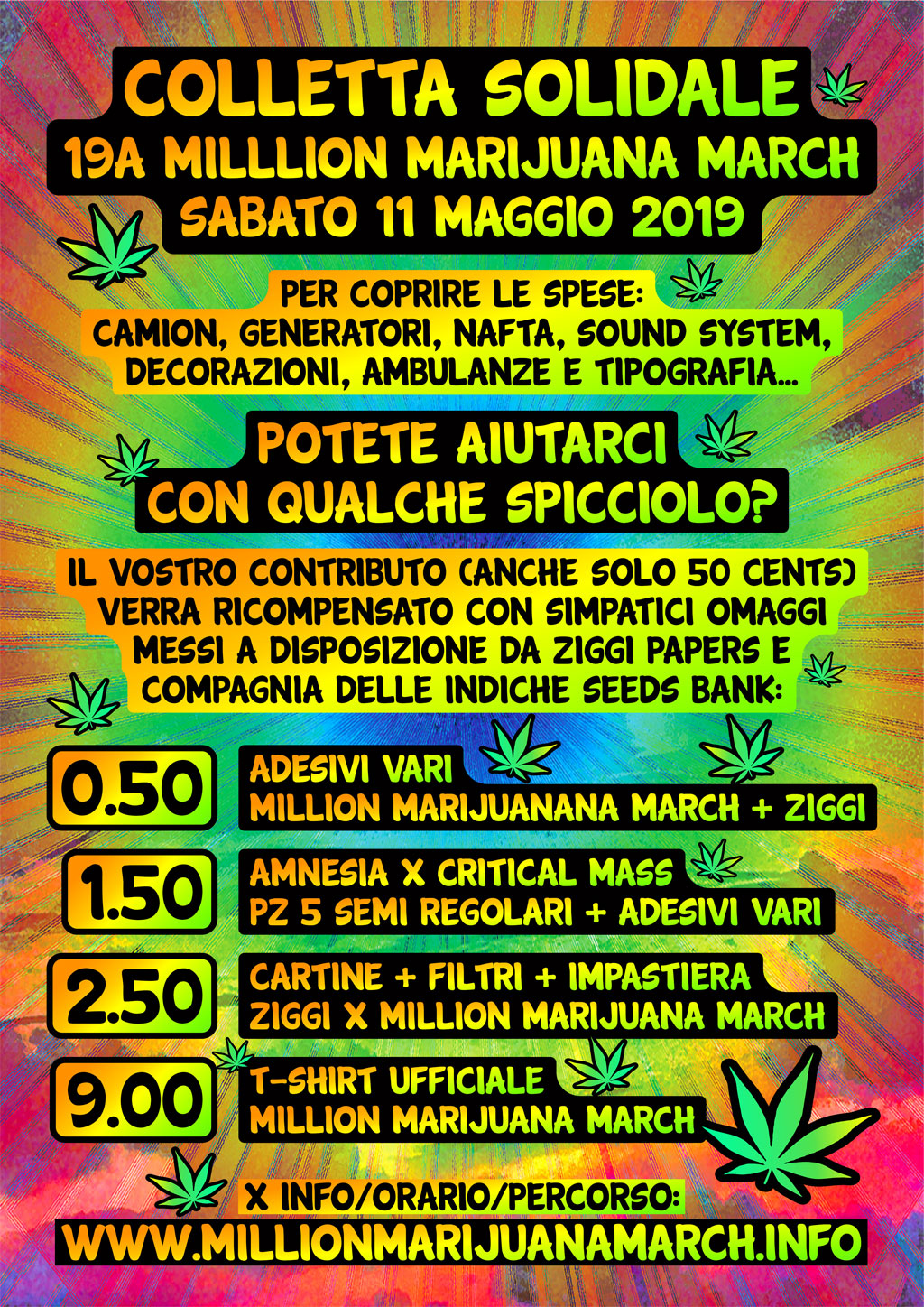 Colletta Solidale #MMM19